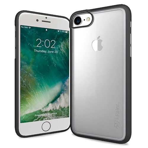 Cover Trasparente per iPhone 7/8 | Black