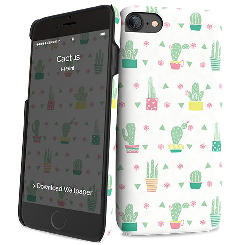 Cover Slim Rigida per iPhone 7/8 | Cactus