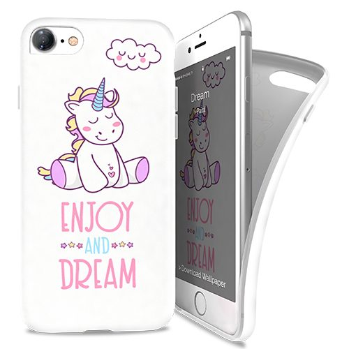 Cover Avvolgente Morbida per iPhone 7/8 | Dream