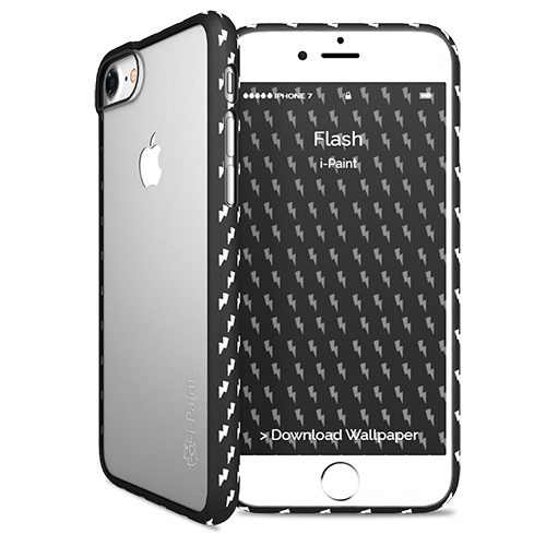Cover Fashion Trasparente per iPhone 7/8 | Flash