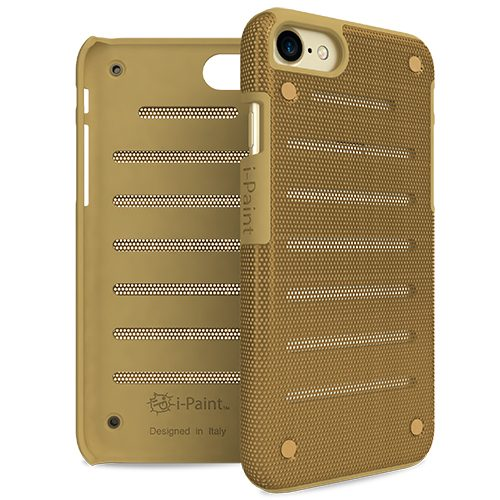 Cover in Metallo Leggero per iPhone 7 | Gold