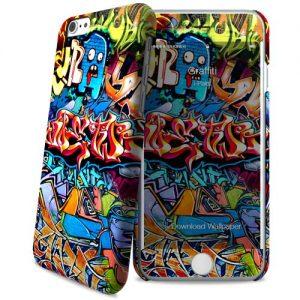 Cover Slim Rigida per iPhone 6/6S   Graffiti