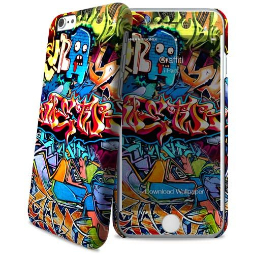 Cover Slim Rigida per iPhone 6/6S | Graffiti