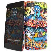 Cover Slim Rigida per iPhone 7/8   Graffiti
