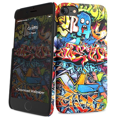 Cover Slim Rigida per iPhone 7/8 | Graffiti