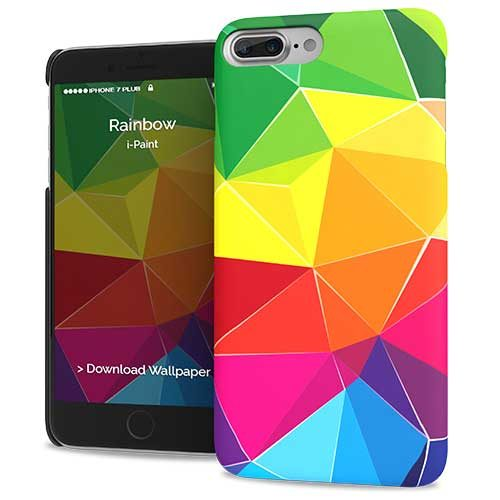 Cover Slim Rigida per iPhone 7/8 Plus | Rainbow