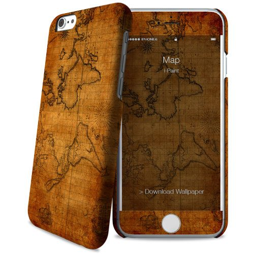Cover Slim Rigida per iPhone 6/6S | Map