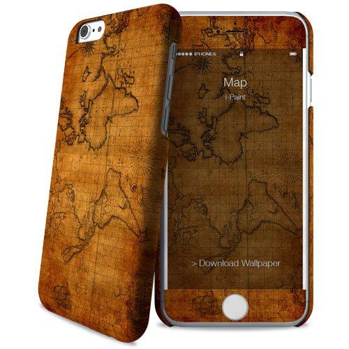 Cover Slim Rigida per iPhone 6/6S | Map