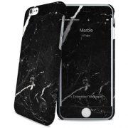 Cover Slim Rigida per iPhone 6/6S | Black Marble