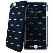 Cover Slim Rigida per iPhone 6/6S   Mustaches