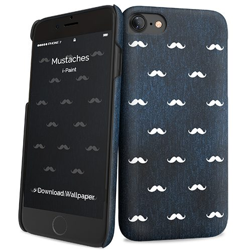 Cover Slim Rigida per iPhone 7/8 | Mustaches