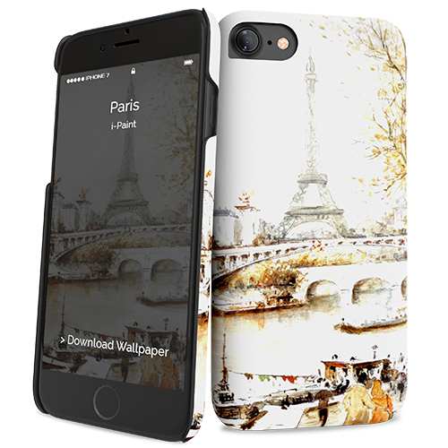 Cover Slim Rigida per iPhone 7/8 | Paris