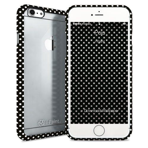 Cover Fashion Trasparente per iPhone 6/6S | Pois