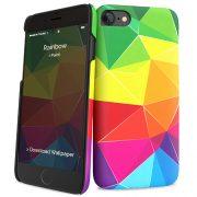 Cover Slim Rigida per iPhone 7/8   Rainbow