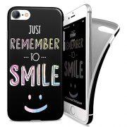 Cover Avvolgente Morbida per iPhone 7/8 | Smile