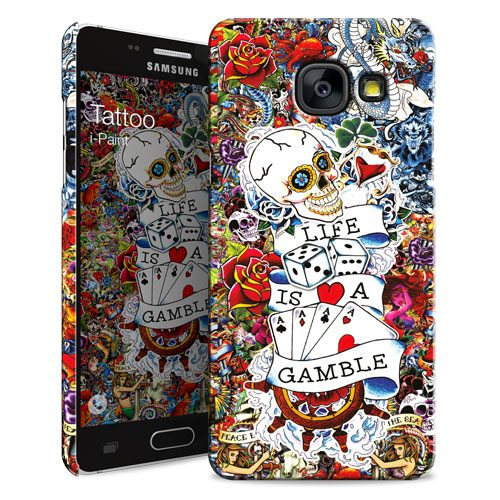 Cover Slim Rigida per Samsung Galaxy A3 2016 | Tattoo
