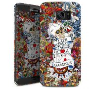 Cover Slim Rigida per Samsung Galaxy S7 Edge | Tattoo
