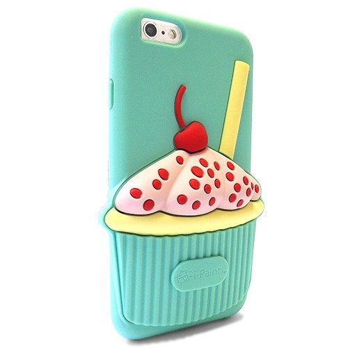 Cover 3D Morbida per iPhone 6/6S | Cup Case