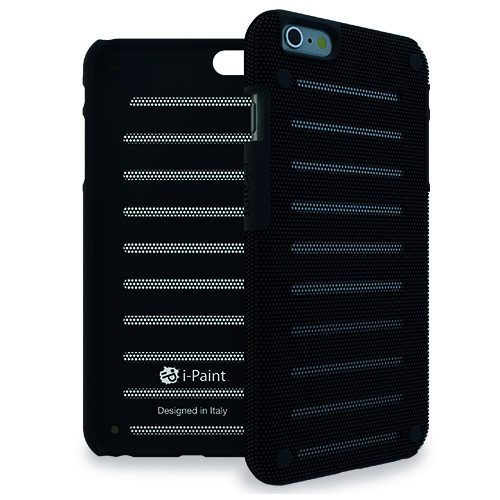 Cover in Metallo Leggero per iPhone 6/6S | Black