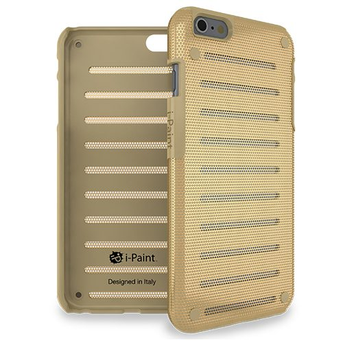 Cover in Metallo Leggero per iPhone 6/6S | Gold