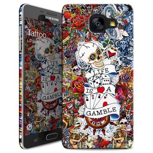 Cover Slim Rigida per Samsung Galaxy A5 2016 | Tattoo