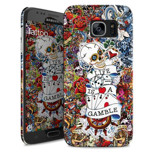 Cover Slim Rigida per Samsung Galaxy S7 | Tattoo