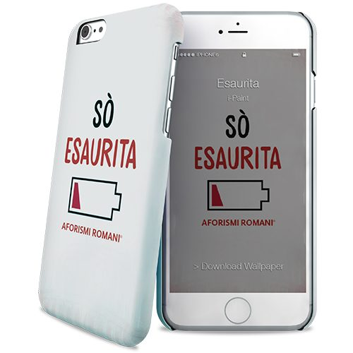 Cover Slim Rigida per iPhone 6/6S | Esaurita