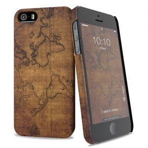 Cover Slim Rigida per iPhone SE/5S/5 | Map