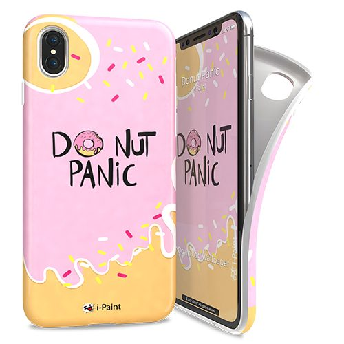 Cover Avvolgente Morbida per iPhone X/XS | Donut