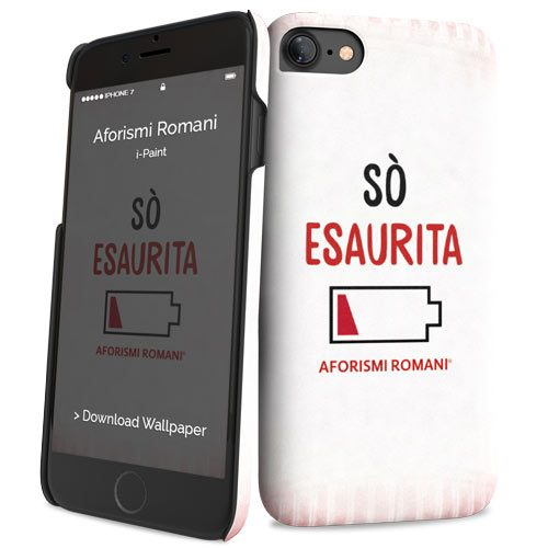 Cover Slim Rigida per iPhone 7/8 | Esaurita