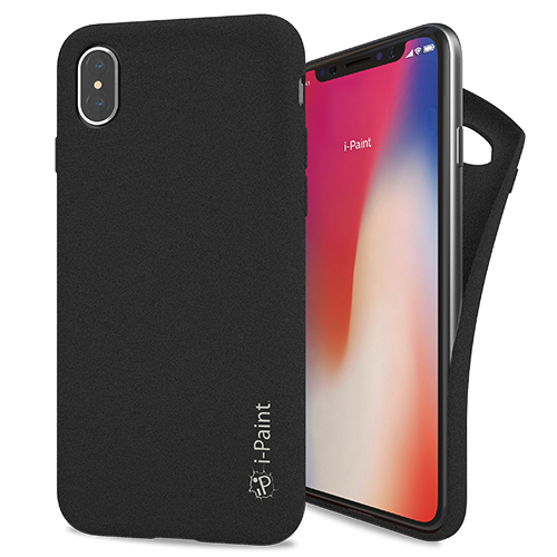 Cover Sand UltraFlessibile per iPhone X | Black