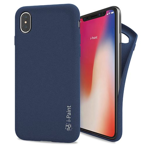 Cover Sand UltraFlessibile per iPhone X | Blue