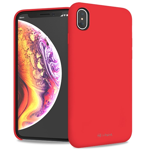 SOLID CASE-iPXs Max_Red