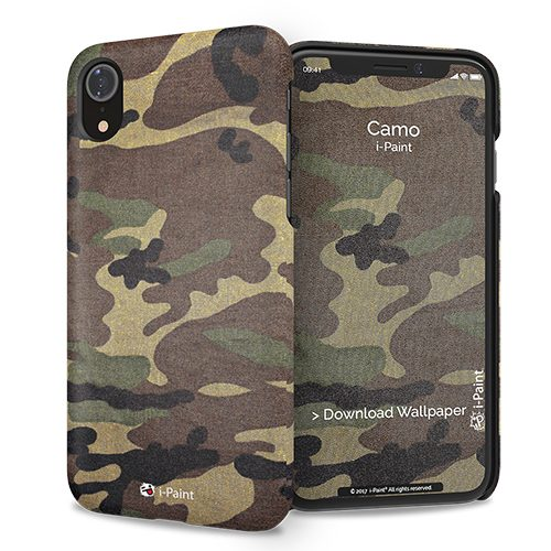 Cover Slim Rigida per iPhone XR | Camo