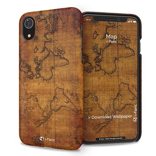 Cover Slim Rigida per iPhone XR | Map
