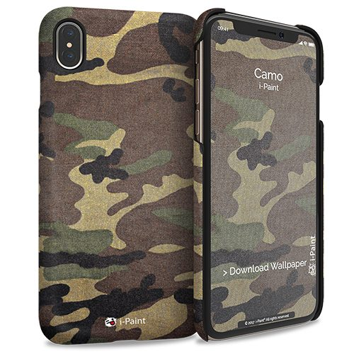 Cover Slim Rigida per iPhone XS Max | Camo