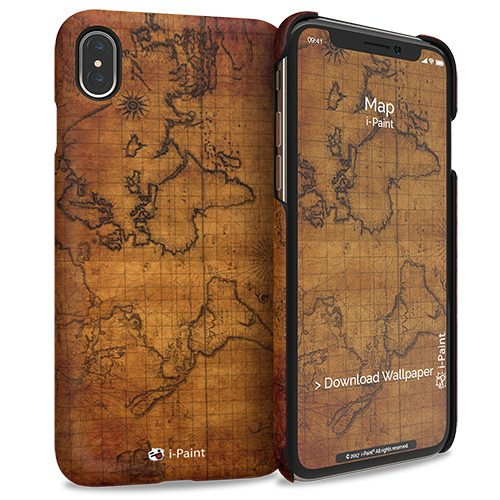 Cover Slim Rigida per iPhone XS Max | Map