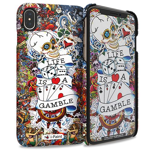 Cover Slim Rigida per iPhone XS Max | Tattoo
