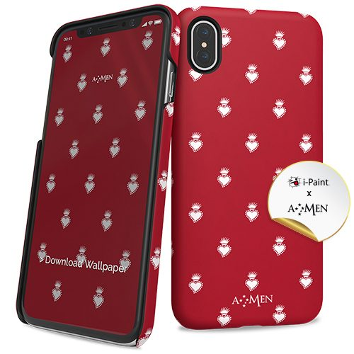 Cover Slim Rigida per iPhone X/XS | Sacro Cuore