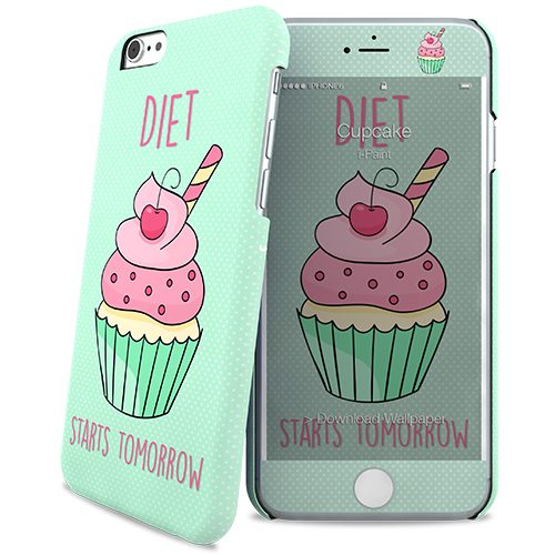 Cover Slim Rigida per iPhone 6/6S | CupCake