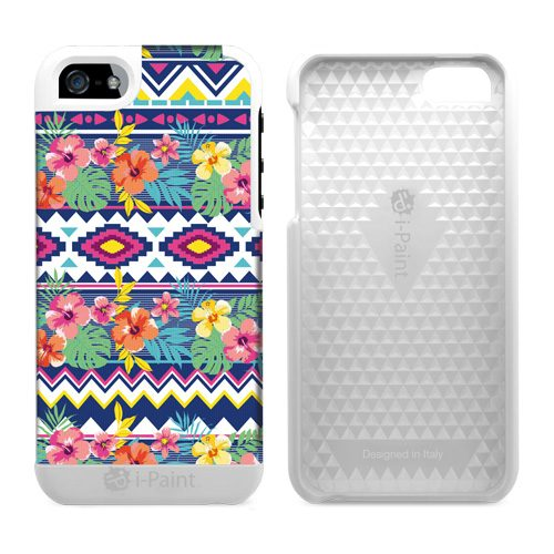 Cover in Tessuto per iPhone SE/5S/5 | EthnicFlower
