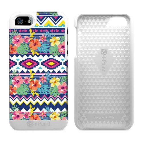Cover in Tessuto per iPhone SE/5S/5   EthnicFlower