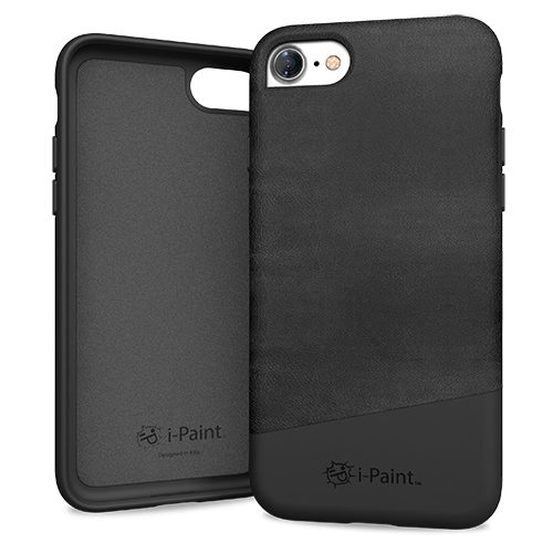Cover in Pelle Premium per iPhone 7/8 | Black