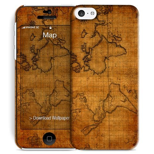 Cover Slim Rigida per iPhone 5C | Map