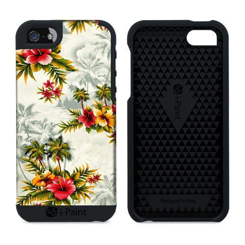 Cover in Tessuto per iPhone SE/5S/5 | PalmSpring