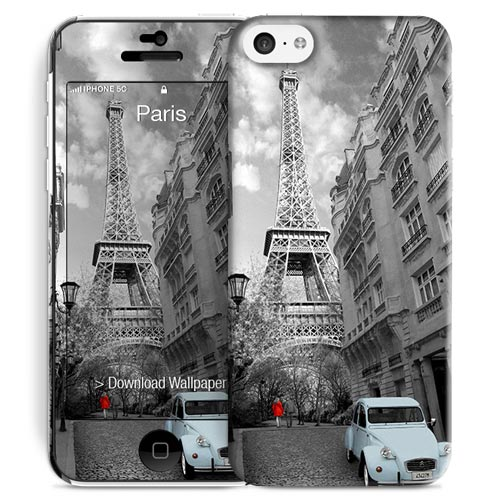 Cover Slim Rigida per iPhone 5C   Paris