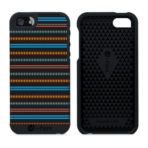 Cover in Tessuto per iPhone SE/5S/5 | BlackMamba