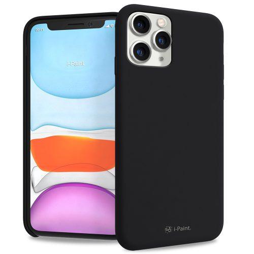 Cover in Silicone Semirigido per iPhone 11 Pro Max - Black