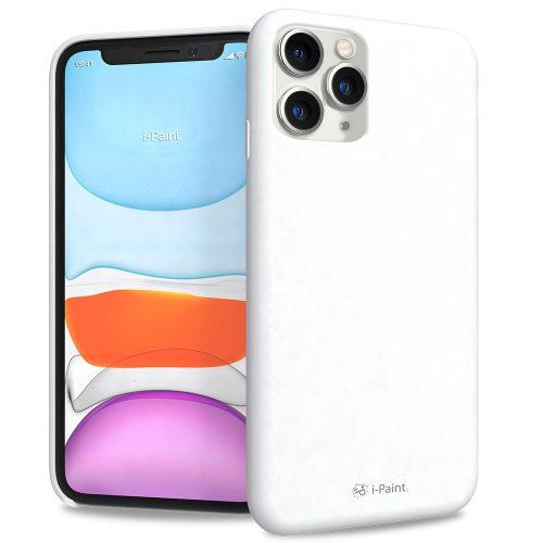 Cover in Silicone Semirigido per iPhone 11 Pro Max - White