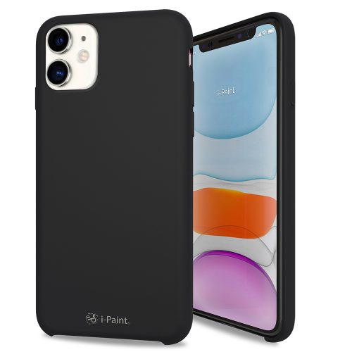 Cover in Silicone Semirigido per iPhone 11 - Black